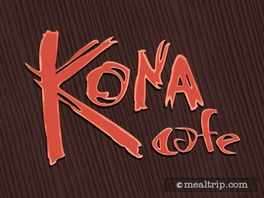 Kona Cafe Dinner Reviews and Photos