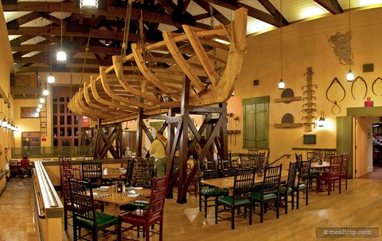 Boatwright's Main Dining Area.