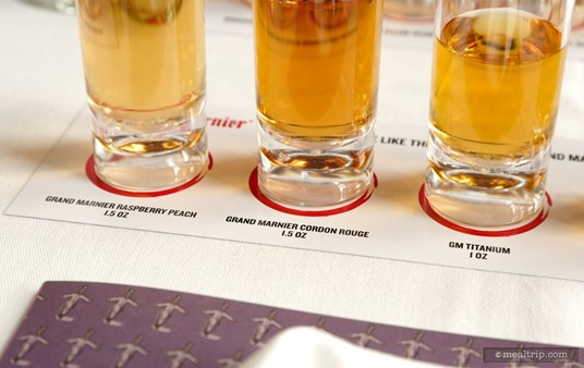 There is a slight color difference in the various pours of Grand 