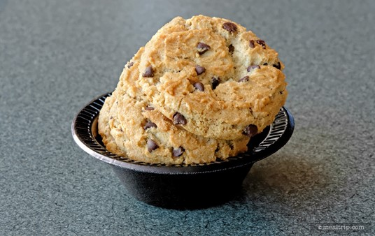 The Chocolate Chip Cookie Cup can be found at many different dining locations throughout SeaWorld.