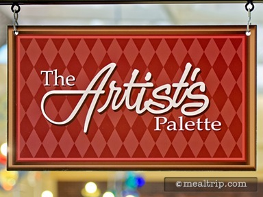 The Artist's Palette Dinner Reviews and Photos