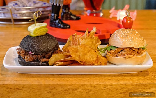 The Slider Sampler at the Rebel Hangar - A Lounge Experience during Star Wars Weekends at Hollywood Studios.