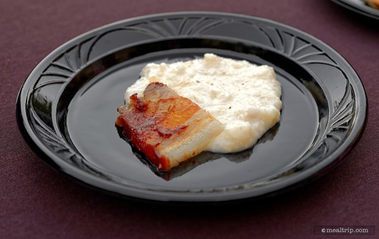 Pork Belly & Zellwood Corn Grits was one of the food offerings at Jake's Beer Festival (spring 2016).
