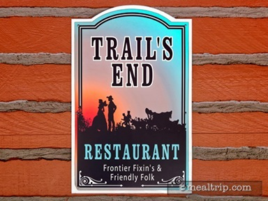 Trail's End Restaurant Dinner Reviews and Photos