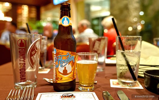 "The ""amuse"" course beer for this Jake's Beer Dinner was Funky Buddha's Floridian."