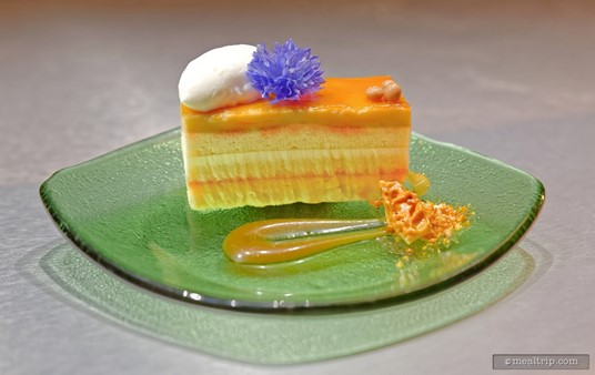 This Florida Honeybell Citrus  Cake was created for the event by the Contemporary Pastry team!