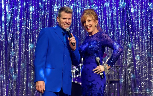 Your emcees for Disney Countdown to Midnight: A New Year's Eve Celebration!