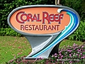 Coral Reef Restaurant Lunch