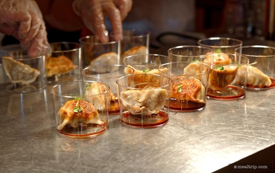 Asian Dumplings from the Swan and Dolphin Food and Wine Classic (2018).