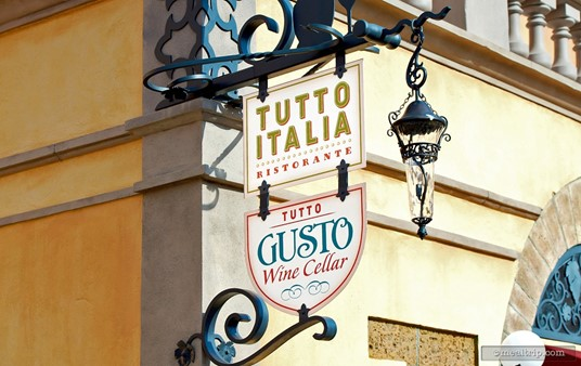 The Tutto Italia Ristorante and Tutto Gusto share the same building. 