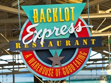 Backlot Express Reviews and Photos