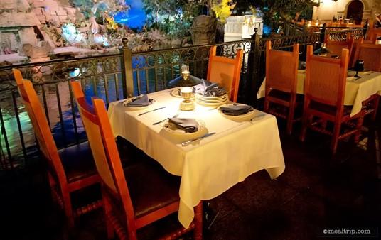 San Angel Inn River Tables