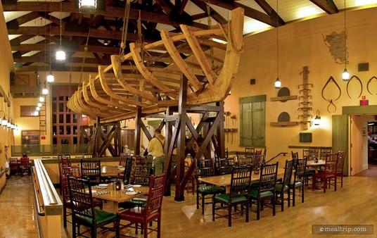 Boatwright's Main Dining Area.