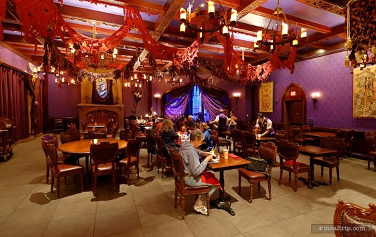 """Be Our Guest's """"West Wing"""" Dining Area"""