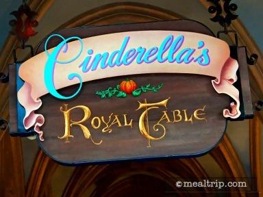 Cinderella's Royal Table Reviews