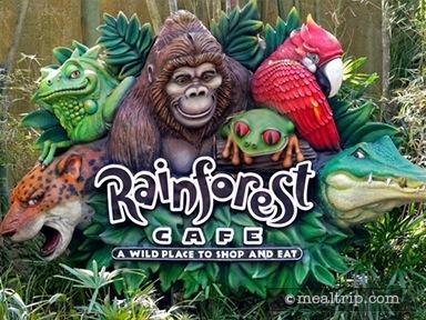 Rainforest Café at Disney's Animal Kingdom Breakfast Reviews and Photos