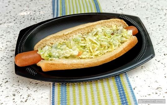 Captain Pete's Key West Hot Dog.