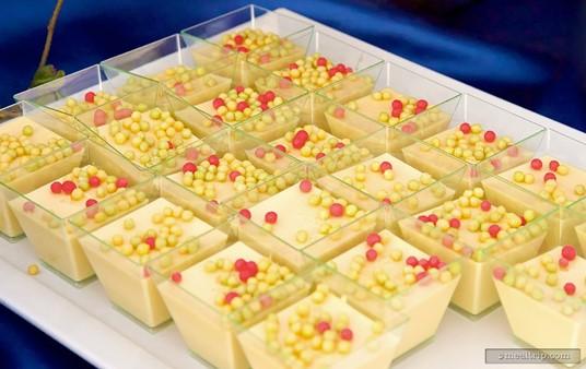 Vanilla Pot de Creme from Ecpot's IllumiNations Sparkling Dessert Party.