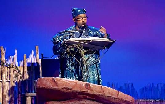 The featured narrator at Harambe Nights on July 5th, 2014 was Michael Beach.