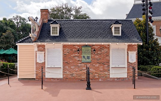 The Fife & Drum booth is located on the main walkway around World Showplace Lagoon. Facing south, the booth is located to the left of the pavilion.