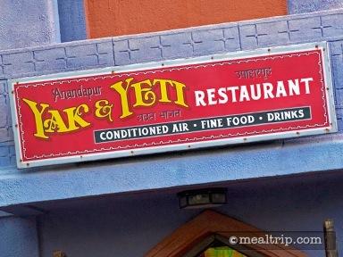 Yak & Yeti™ Restaurant Reviews