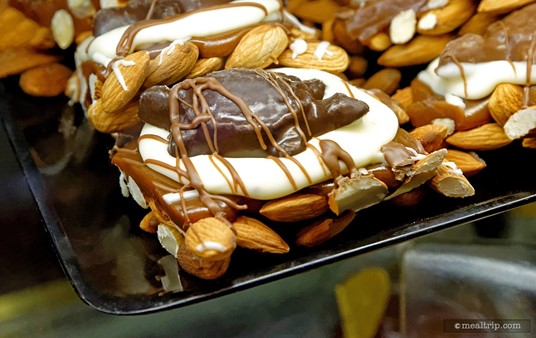 A chocolate turtle is one of the hand-made confections at Sultan's Sweets.