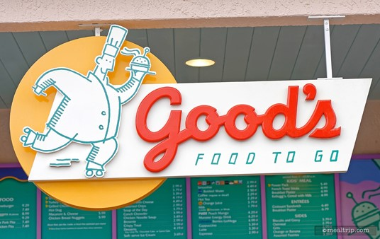 The Good's Food to Go sign above the Old Key West eatery.