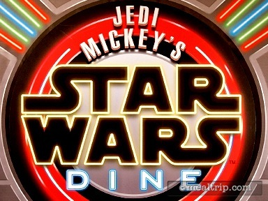 Jedi Mickey's STAR WARS Dine at Hollywood & Vine Reviews and Photos