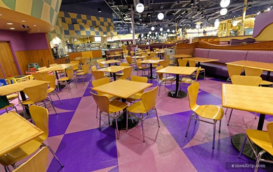 """The """"purple room"""" is by the bakery area at Everything Pop."""