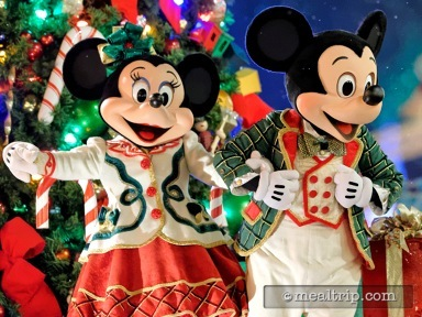 Minnie's Holiday Dine at Hollywood and Vine Reviews