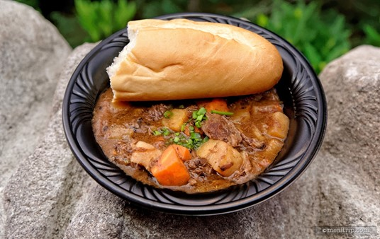 The Tavern Beef Stew from Gaston's Tavern is quite good, especially on a cold day.