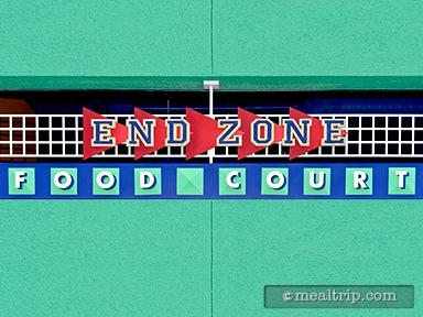 End Zone Food Court - Lunch and Dinner Reviews