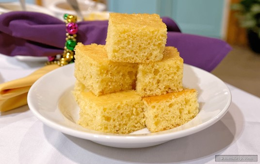This was the second portion of House-made Corn Bread... now that's more like it.
