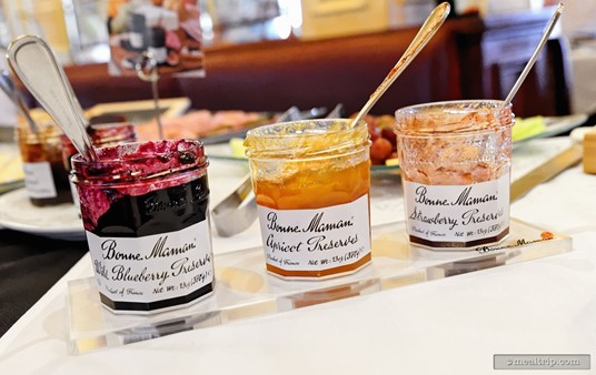 Mmmmm... Bonne Maman Preserves are the best on fresh baked French pastries. It looks like the Strawberry Reserve is very popular.