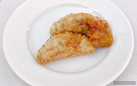 Another VIP exclusive were the warm Chicken Olive Tapenades (from the 2015 Harbor Nights Primavera event).