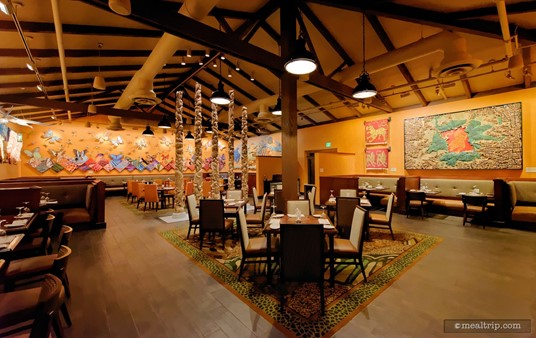 """The """"Grand Gallery"""" dining area at Tiffins had been part of Pizzafari's dining area."""