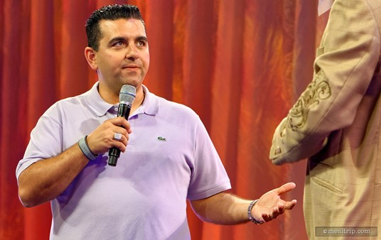 You'll never know who's going to stop by the Rockin' Burger Block Party (well, you will because they're on the schedule)... here, Cake Boss Buddy Valastro stops by to chat about burgers, cakes, and what he's up to these days!
