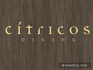 Cítricos Dinner Reviews