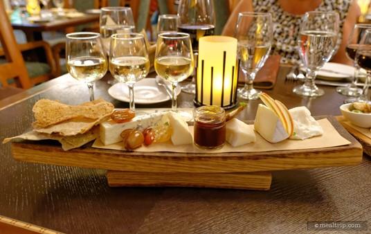 Artisanal Cheese board.