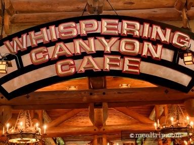 Whispering Canyon Café Dinner Reviews