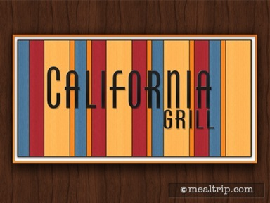 California Grill Dinner Reviews and Photos