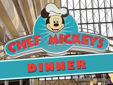 Chef Mickey's Dinner Reviews