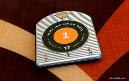 After you place your order (and make payment), you will be given a table pager. Your food will find you in five or ten minutes, no matter where you sit down!