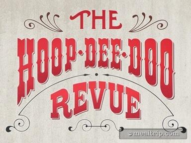 Hoop-Dee-Doo Musical Revue Reviews