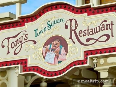 Tony's Town Square Restaurant Reviews