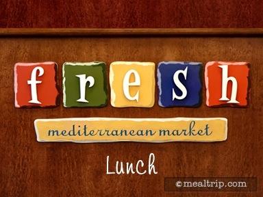 Fresh Mediterranean Market Lunch Reviews