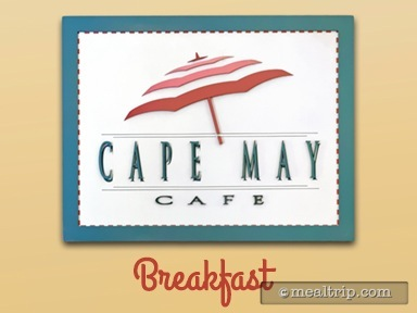 Cape May Cafe Breakfast Reviews