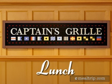 Captain's Grille Lunch Reviews and Photos