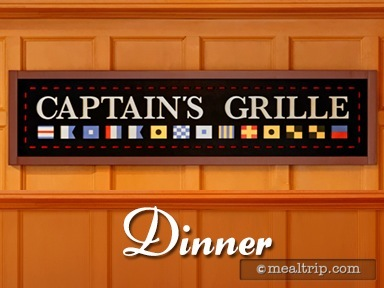 Captain's Grille Dinner Reviews and Photos