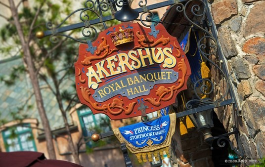 Akershus Sign marking the entrance to the Royal Banquet Hall